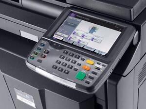 KYOCERA TASKalfa 3550ci COLOR Copier Scanner Colour Laser Printer 11x17 Copy machines Printers Copiers for sale Fax A1