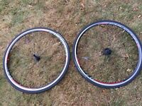 Fulcrum 7 Clincher Wheels (only 100 miles use)