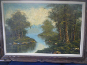 SCENIC OIL PAINTING Kawartha Lakes Peterborough Area image 3