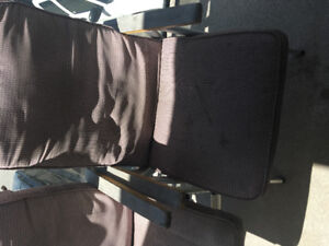 2 Outside chairs