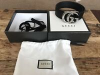 Gucci belt with box new unwanted bday present