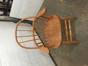 Wooden arm chair. Good condition.
