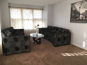 Moving sale- Beautiful Designer Sofa Set (New Condition)