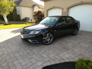 SAAB 9-3 Turbo X, never winter driven
