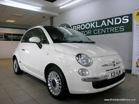 Fiat 500 1.2I LOUNGE S/S [3X SERVICES, PANORAMIC ROOF and 30 ROAD TAX]