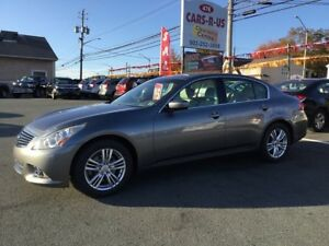 2011 INFINITI G25 Sedan  Free winter tires on all cars and SUV'S