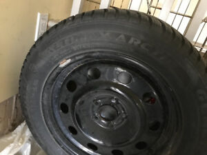 Winter Tires and wheels for 2013 to 2019 Ford Escape/235-17