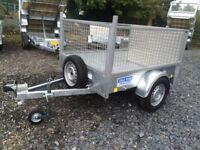 Trailer single axle 7x4 fully welded and road legal