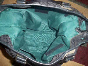 BLACK Authentic Coach purse Windsor Region Ontario image 6