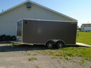 2018 enclosed trailer