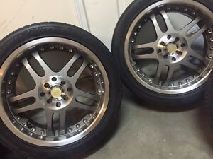 "17""Rims MultiBolt with LowProfile Tires"