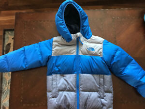 The North Face boys winter jacket.
