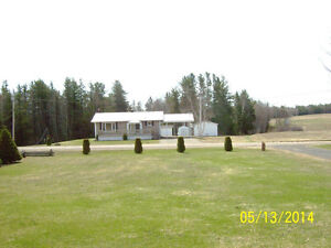 HOUSE FOR SALE  - ACADIEVILLE, NB