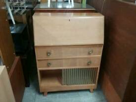 Bureau With Cupboards And Drawers - Can Deliver For £19