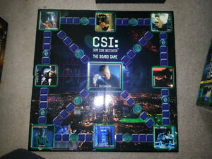 BRAND NEW CSI BOARD GAME WAS NEVER PLAYED AND STUFF IS  SEALED!! London Ontario image 1