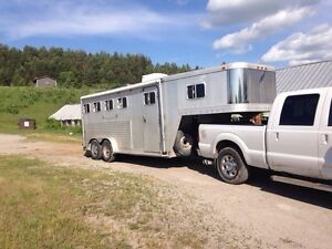 Horse or stock trailering