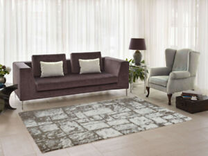 SUPER SOFT MICRO-POLYESTER AREA RUGS STARTING @ $135.99