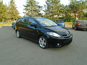 2007 Mazda Mazda5 GT, AUTO, LEATHER & HEATED SEATS w/MOONROOF
