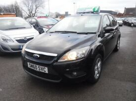 Ford Focus 1.6 ZETEC Good / Bad Credit Car Finance (black) 2011