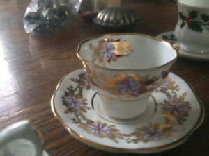 Vintage bone china from England