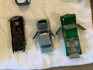 9 Solid Large Toy Cars and 2 Motorcycles Value $250