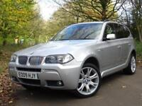 2009 09 BMW X3 2.0d M Sport..HIGH SPECIFICATION..FULL SERVICE HISTORY !!