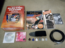 Electric Guitar accessory pack inc £50 of extras