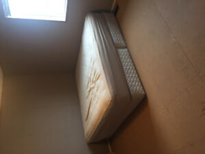 King Bed and Mattress