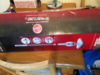 Hoover steam jet steam cleaner in box