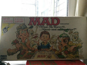 Mad board game