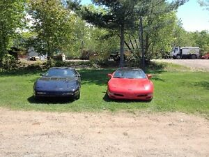 1996 and 1997 Chevrolet Corvette