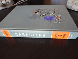 Encyclopedia Canadiana Hardcover textbook London Ontario image 2