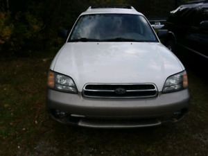 2002 Subaru outback for parts