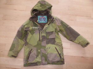 Burton winter coat, youth size 14 - 16, very good condition
