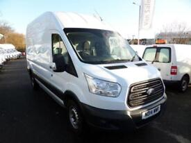 Ford Transit T350 125PS LWB HIGH ROOF VAN DIESEL MANUAL WHITE (2014)