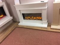 Beautiful Swanley marble surround electric fire