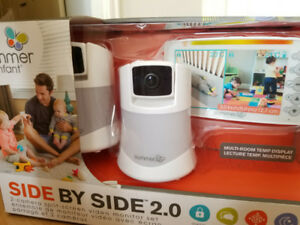 Summer side by side 2.0  baby video monitor. Brand new