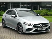 2019 Mercedes-Benz A Class A180d AMG Line Premium 5dr Auto Hatchback Diesel Auto