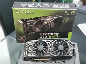 Never used nVidia eVGA GeForce GTX 1080 TI