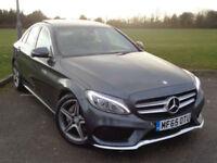 Mercedes-Benz C200 1.6d ( 136ps ) d ( s/s ) Auto 2016MY AMG Line Premium