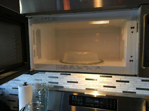 Over the range microwave (whirlpool) new