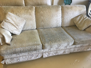 SOFA &  ARM CHAIR; LEATHER LOVE SEAT