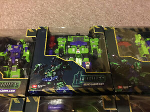 Transformers TFC Third Party Hercules / Devastator Complete Set Cambridge Kitchener Area image 4