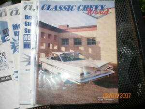 Classic Chevy World Car Magazine 12 for $10.00