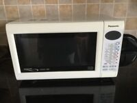 Panasonic microwave with convection oven and grill 1000 watt