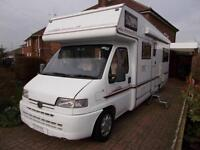 Elddis Autostratus 6 Berth 6 Traveling Seats Rear U Shaped Lounge Ref 9036