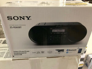 SONY AUDIO SYSTEM  ZS-RS650BT