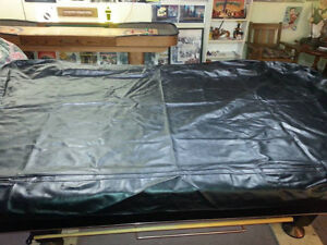 Naugahyde Pool Table Cover (for 8' Table) For Sale