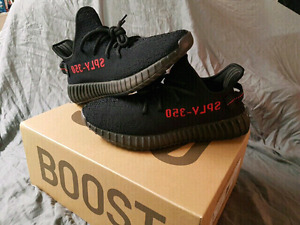 YEEZY 350 V2 BLACK RED BRED NEW JORDAN NIKE AIRMAX BOOST Y3