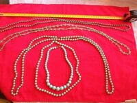 Vintage costume necklaces